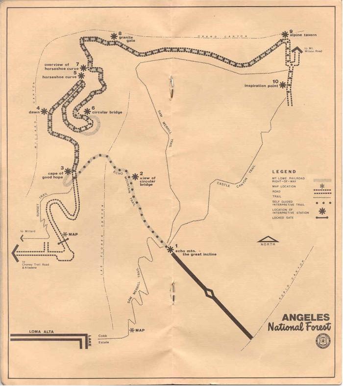 Dan S Hiking Pages Mt Lowe Railway Tour